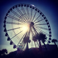 Photo taken at Myrtle Beach SkyWheel by Eric S. on 3/7/2013
