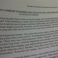 Photo taken at Badan Perpustakaan, Arsip dan Dokumentasi Provinsi Sumatera Utara by Dewi M Rangkuti on 9/27/2013