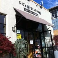 Photo taken at Roy's Station Coffee & Tea by Gordon G. on 3/30/2013