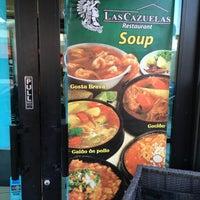 Photo taken at Las Cazuelas Restaurant by Gordon G. on 3/28/2017