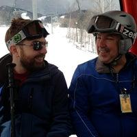 Photo taken at North Peak Lodge by Matthew P. on 3/29/2013