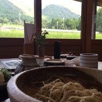 Photo taken at そば処 まつばら by Takashi T. on 8/7/2016