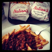 Photo taken at Nation's Giant Hamburgers by Peter S. on 7/28/2013