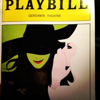 Photo prise au Gershwin Theatre par Peter S. le10/24/2012
