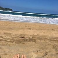 Photo taken at Hanalei Pavilion Beach Park by Portia P. on 3/6/2016