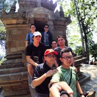 Photo taken at Candi Cangkuang by Vu L. on 8/17/2015