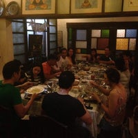 Photo taken at Adarna Food & Culture by Renz T. on 5/1/2014