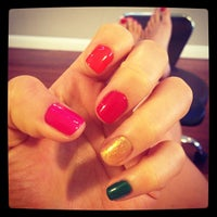 Photo taken at Hand Touch Nails by @maitran on 6/30/2013