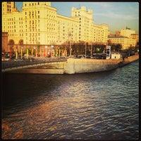 Photo taken at Bolshoy Ustyinsky Bridge by Jim T. on 5/7/2013