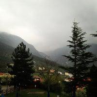 Photo taken at Piscina Comunale Di Gualdo Tadino by Dante S. on 4/20/2013