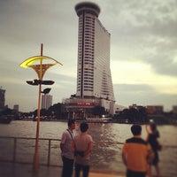 Photo taken at Millennium Hilton Bangkok by TP P. on 9/28/2012