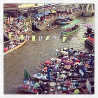 Photo taken at Amphawa Floating Market by TP P. on 4/21/2013