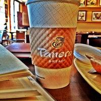 Photo taken at Panera Bread by Christina on 10/25/2012