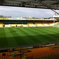 Photo taken at Carrow Road by Norwich City FC on 10/20/2012