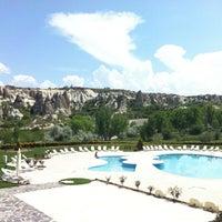 Foto diambil di Tourist Hotels & Resorts Cappadocia oleh Huma E. pada 5/5/2013
