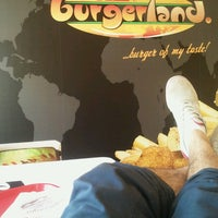 Photo taken at Burgerland by Janko K. on 4/17/2013