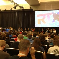 Photo taken at Main Ballroom at RTX by Jordan D. on 7/6/2013