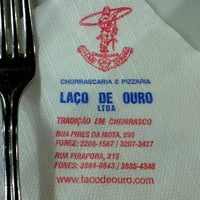 Photo taken at Churrascaria Laço de Ouro by Lucas F. on 2/1/2013