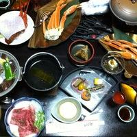 Photo taken at Hotel Mikawa Kaiyoukaku by Kay T. on 12/31/2012