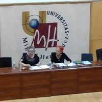 Photo taken at Aula Magna by Cristina C. on 10/16/2013