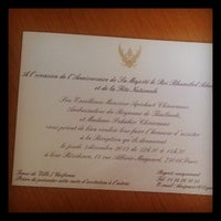 Photo taken at Ambassade Royale de Thaïlande by ??????? ?. on 12/5/2013