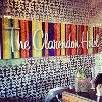 Photo taken at Clarendon Hotel by Sarah K. on 4/13/2013