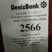 Photo taken at DenizBank by İbrahim G. on 2/5/2016