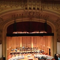 Photo taken at Copley Symphony Hall by Kathy H. on 5/12/2013