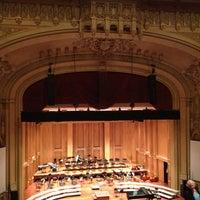 5/12/2013 tarihinde Kathy H.ziyaretçi tarafından Copley Symphony Hall'de çekilen fotoğraf