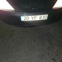 Photo taken at Honaz Yolları by Hande T. on 3/24/2016