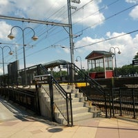 Photo taken at NJT - Aberdeen-Matawan Station (NJCL) by Christopher F. on 6/29/2013