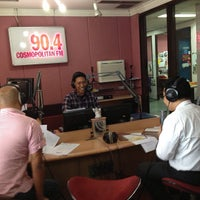 Photo taken at 90.4 Cosmopolitan FM by Felicia S. on 3/21/2013