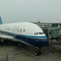 Photo taken at CZ3999 CAN-PEK / China Southern Airlines by Twingoniko on 8/6/2014
