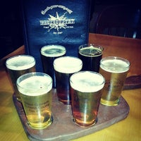 Photo taken at Backcountry Brewery by Tara d. on 7/8/2013