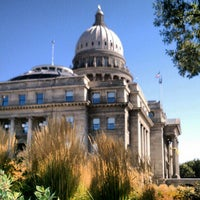 Photo taken at Idaho State Capitol by Jill B. on 10/10/2012
