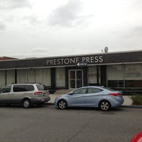 Photo taken at Prestone Press by Olivier H. on 11/7/2012