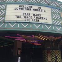 Photo taken at Downtown Modesto by Alan T. on 10/25/2015