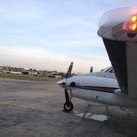 Photo taken at Hangar JAT Just in Air by Fabio S. on 11/19/2012