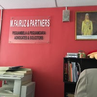 Photo taken at M.Fairus&Partners[Peguambela&Peguamcara] by Ezzaida R. on 8/18/2016