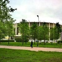 Photo taken at metro Sportivnaya by Владислав С. on 5/24/2013