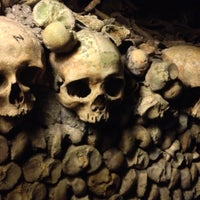Photo taken at Catacombs of Paris by Dave B. on 5/24/2013