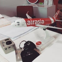 Photo taken at Air Asia Sales Office Patong by Kseniya V. on 12/19/2014