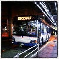 Photo taken at 津田沼駅南口バスターミナル by R. tacoya N. on 6/12/2013