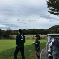 Photo taken at Black Stone Golf & Resort by Jeeyeun S. on 10/15/2017