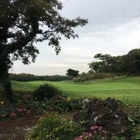 Photo taken at Black Stone Golf & Resort by Jeeyeun S. on 10/14/2017