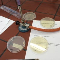 Photo taken at Labo Microbiologie by Pieter-Paul S. on 3/9/2016
