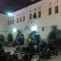 Photo taken at Pasar Senen Station by Oktavia R. on 3/27/2013