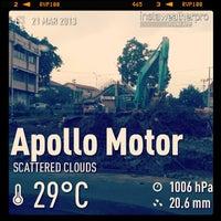Photo taken at Apollo Motor by Erich J. on 3/21/2013