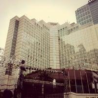 Photo taken at MH. Thamrin - Sudirman Street by Leo K. on 12/31/2013