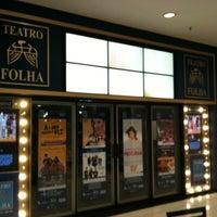 Photo taken at Teatro Folha by Dayane I. on 2/23/2013